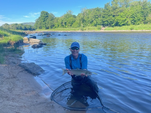 Robson Green 4lb grilse Invery S pool 01.07.2021